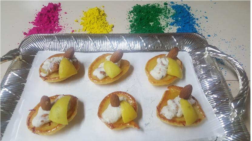 Lemon Malpua Bites Recipe