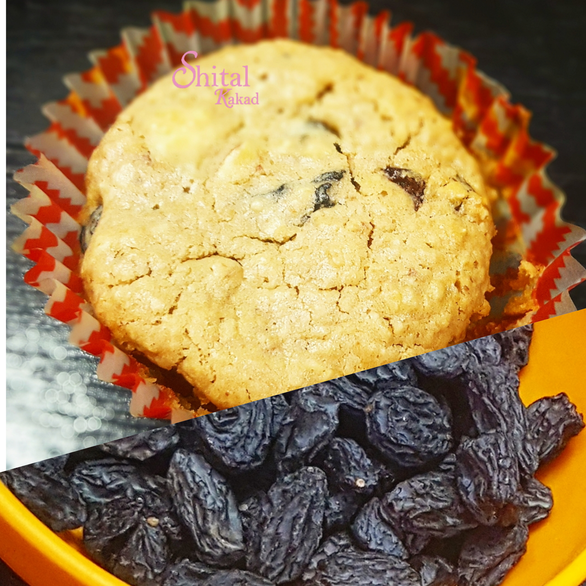 Oatmeal Black Currant Muffins