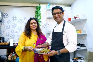 with Chef Amitesh Virdi
