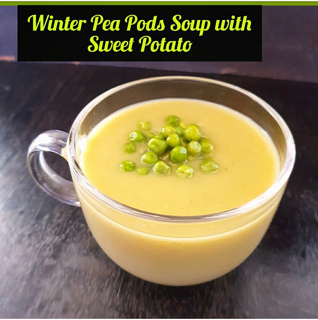 Winter Pea Pods Soup recipe